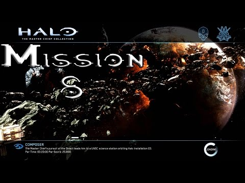 Halo 4 - Composer - Mission 8 Walkthrough (1080p60fps) Xbox One MCC