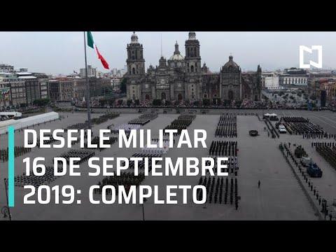 El presidente Andrés Manuel López Obrador encabeza el desfile cívico-militar por el 209 aniversario