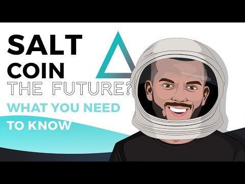 SALT Lending Coin - What You Need to KNOW!! The Future? Giveaway!!!