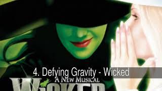 Las canciones más famosas de Broadway