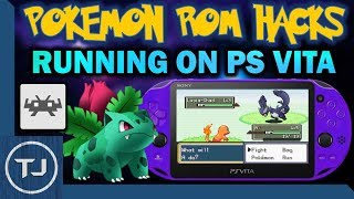 Playing Pokemon ROM Hacks On PS Vita!