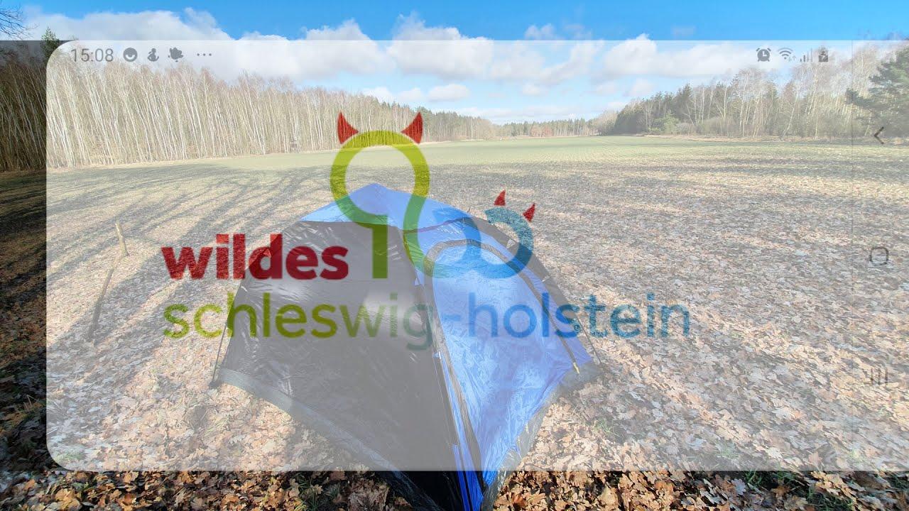 Wildes SH Schleswig-Holstein Wildcampen: 14 Trekkingplatz Naturpark Aukrug