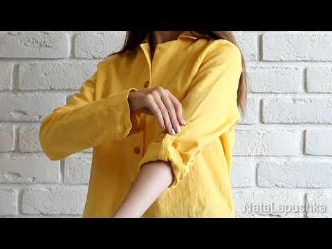 #Trendyol желтая рубашка с пуговицами #Aliexpress