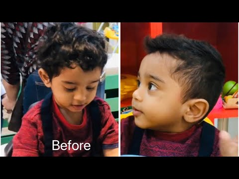 Baby Boy Haircut With Trimmer Baby Cut Hairstyle Toddler Cutting 1 Year Old Baby Hairstyle 2019 Youtube