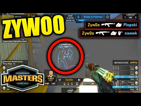 WTF ZYWOO!! DreamHack Masters Spring 2020 BEST MOMENTS - CSGO Day 10