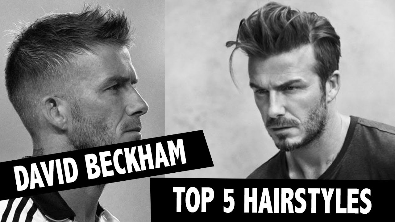 Mannerfrisuren Top 5 David Beckham Hairstyling Men Hairstyling