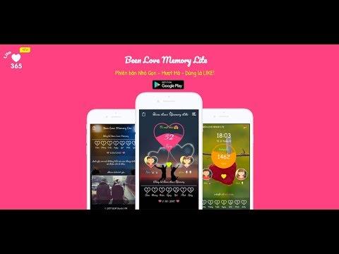 Been Love Memory Lite – Đếm ngày yêu 2018 (Lite) – Phiên bản Lite – beenlovememory.app