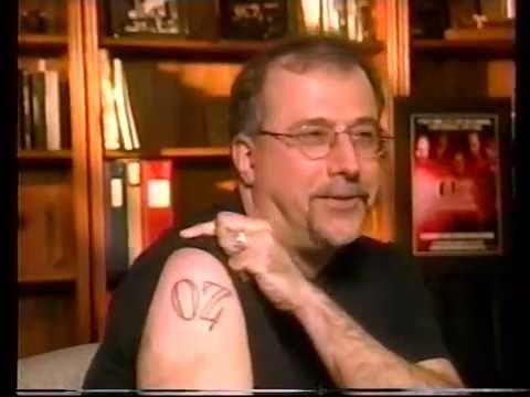 SOPRANOS S2 Promo James Gandolfini, Robert Patrick 2000, Tom Fontana OZ tattoo promo
