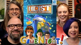 Heist: One Team, One Mission - GameNight! Se7 Ep38 - How to Play and Playthrough