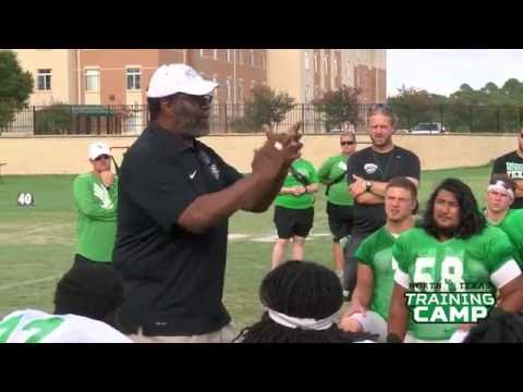 North Texas Football: Joe Greene Addresses the Team 8/16/16