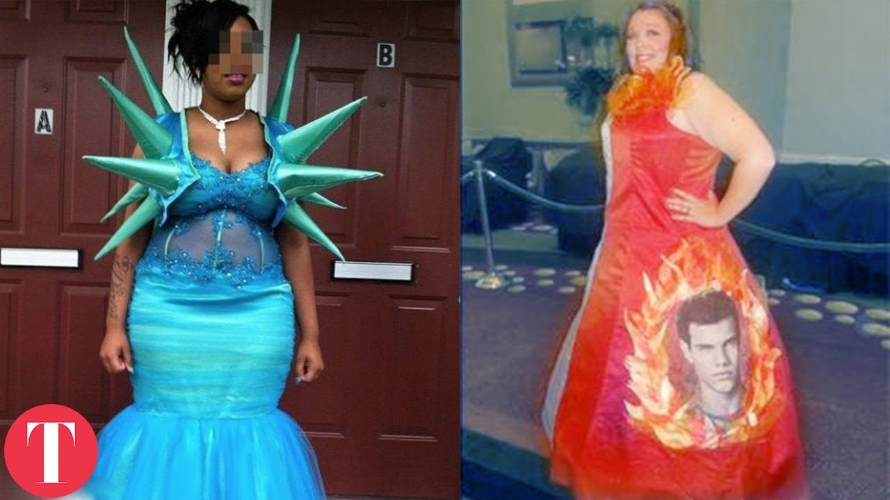 Prom Dresses Gone Wrong