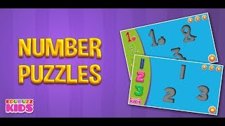 Numbers Puzzles For Toddlers Game |  Free Google Android Game