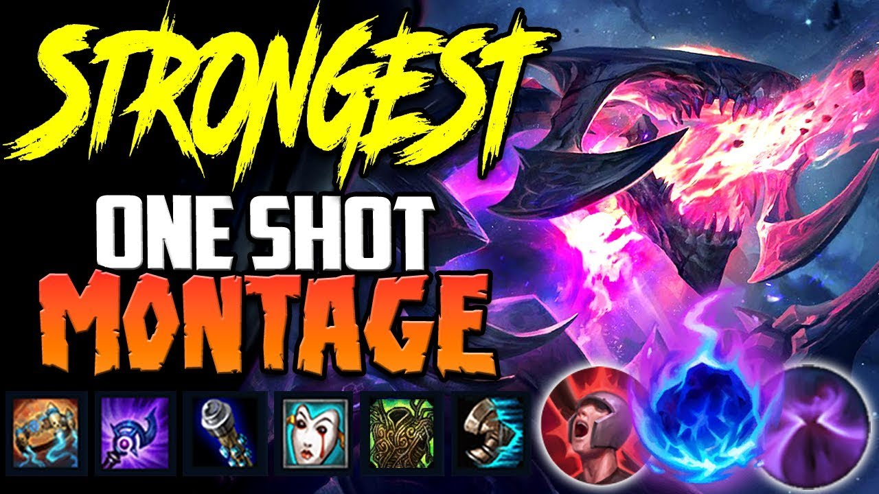 The Strongest Build One Shot Chogath Montage Full Magic Pen Cho