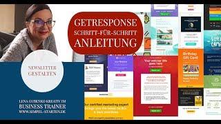 Getresponse Newsletter erstellen