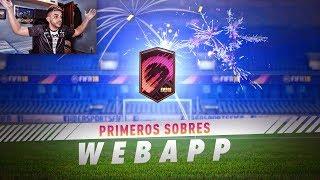 PRIMER PACK OPENING GRATIS EN LA WEBAPP DE FIFA 18 !!