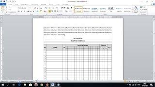 Cara Copy Tabel Excel ke Word Agar Hasilnya Rapi