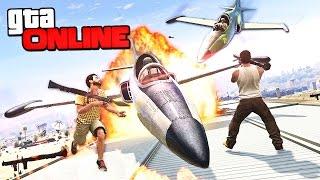 КАМИКАДЗЕ VS RPG В GTA 5 ONLINE (ГТА 5 ПРИКОЛЫ) #131