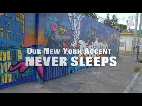 This is our New York accent never sleeps