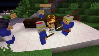 Minecraft Stations of the Cross