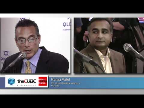 The Cube - Oracle Open World 2011 - Parag Patel