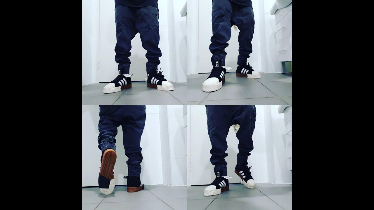 Adidas Alexander Wang aw skate super