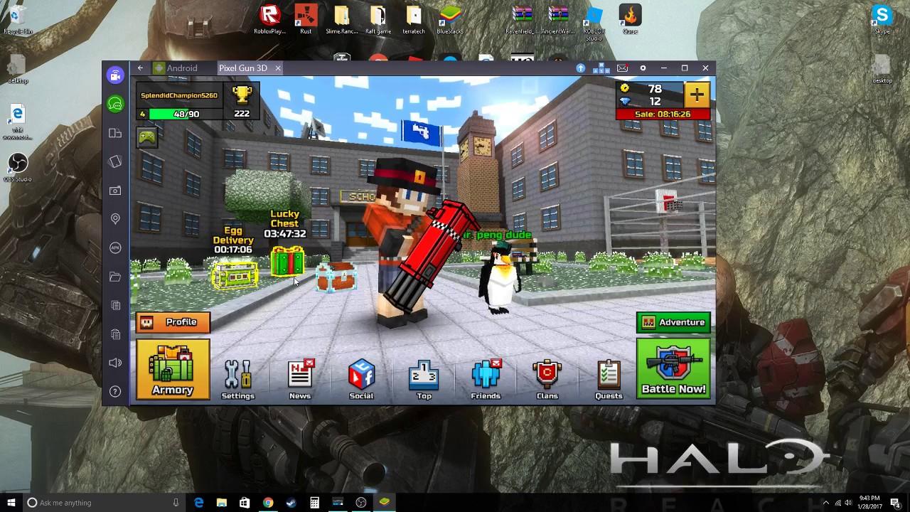 tai game pixel gun 3d pc