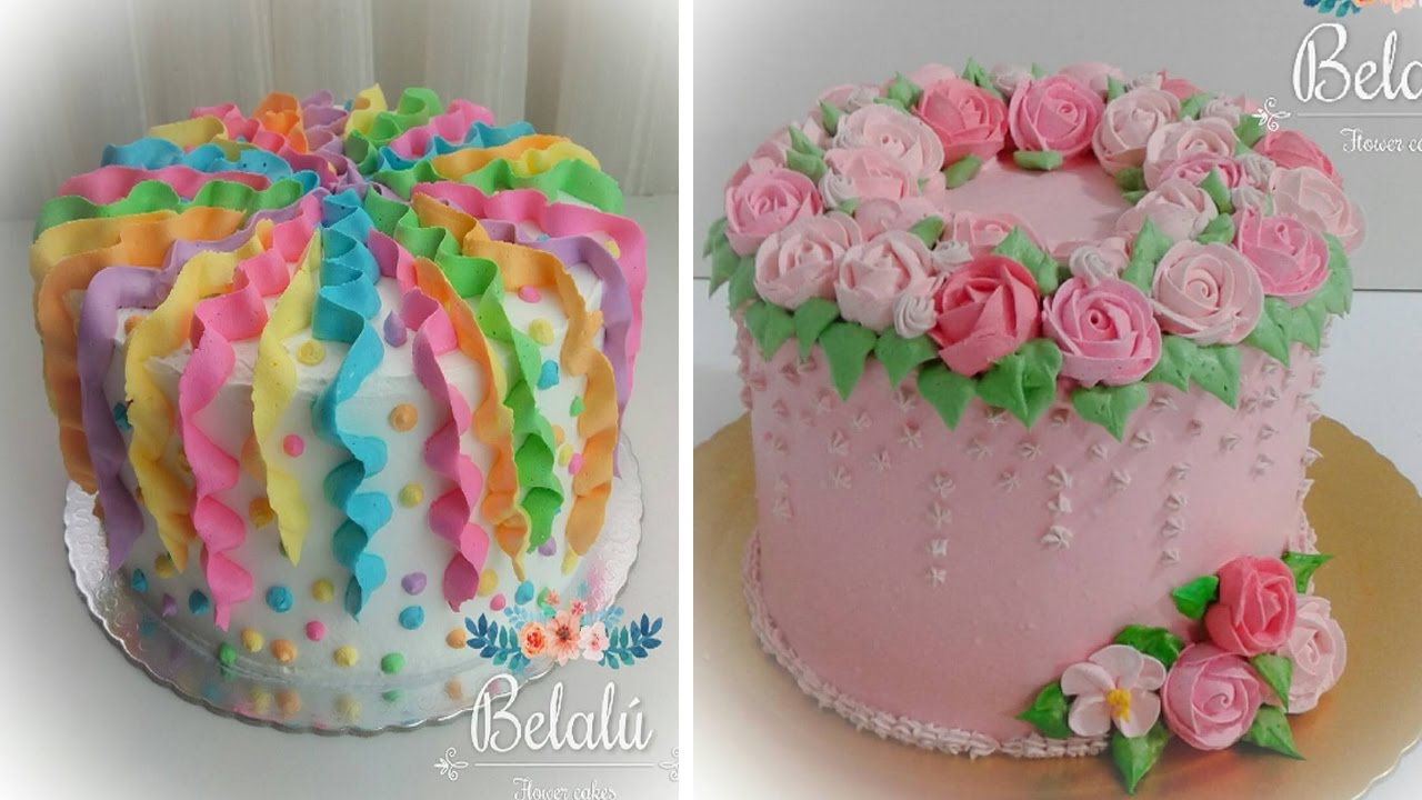 Top 20 Birthday Cake Decorating Ideas   The Most Amazing Cake Decorating  Videos Nice Design