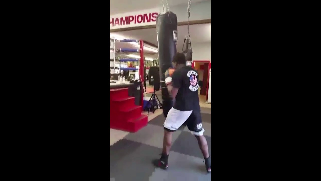 50ea2eb0d70 Demo Clip for Reebok Boxing Boot Review - YouTube