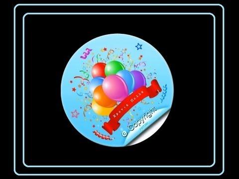 Χρόνια Πολλά σε 'σένα για τα γενέθλιά σου   Animation video