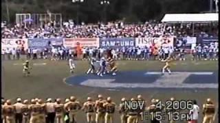 Pumas vs Borregos CCM PostSeason ONEFA 2006