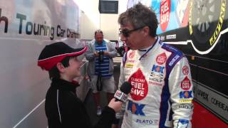 Jason Plato - Thruxton 2014 BTCC - MG Tesco Fuel Save