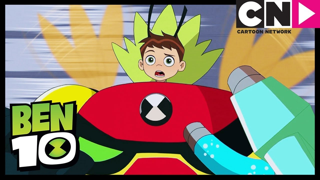 Ben 10 The Aliens Get Mixed Up And Combined Riding The