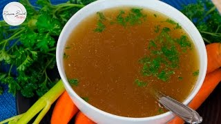 How to Make Chicken Bone Broth Recipe THE BEST Nutritious Recipe Inexpensive to Make