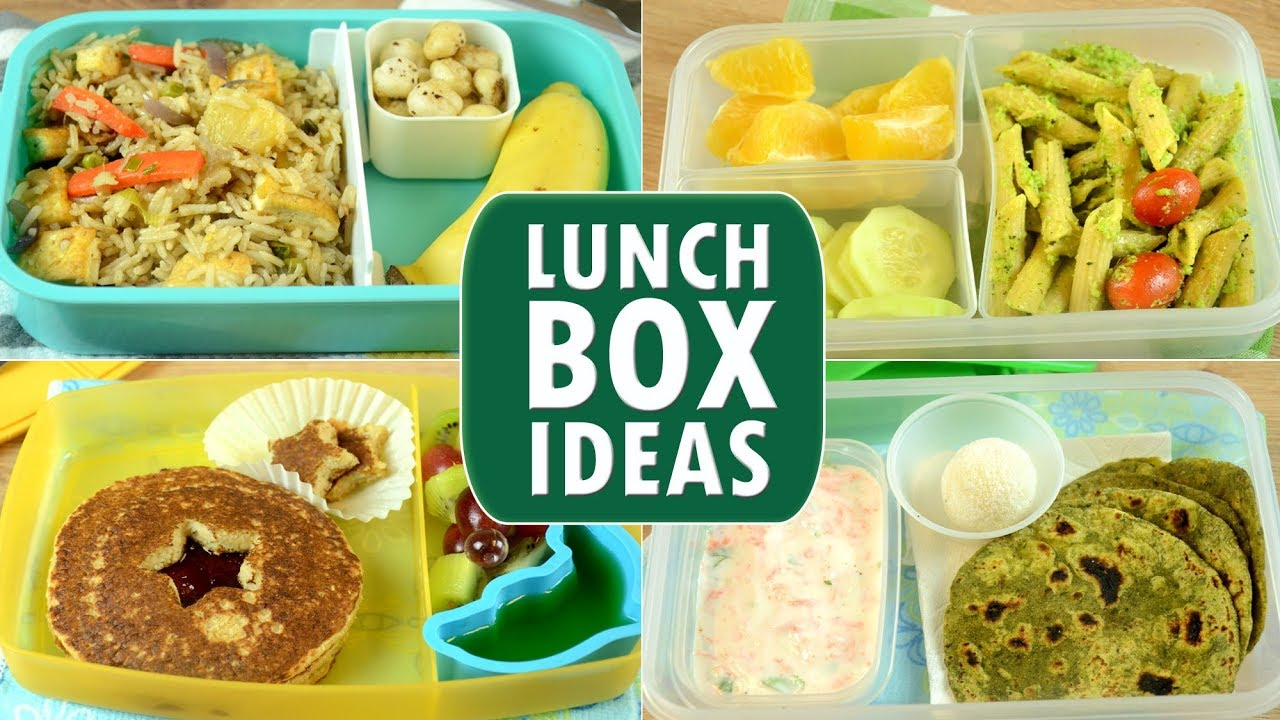 quick lunch box ideas | kids lunch box recipes | indian lunch box