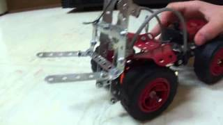 Erector Set Forklift