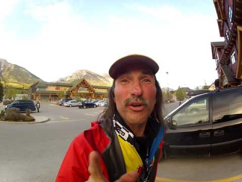 2013 Victory Lap inside round the entire Sobies Grocery Store Canmore Alberta