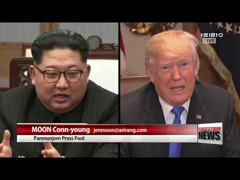 [LIVE/ARIRANG NEWS] N. Korean state media reports on inter-Korean summit include expression ...