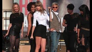 Taylor Swift live You Belong With Me # Ellen 2012