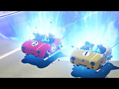 Dragon Ball Z: Kakarot - Goku & Piccolo Racing On Driving Exam (DBZ Kakarot 2020) PS4 Pro