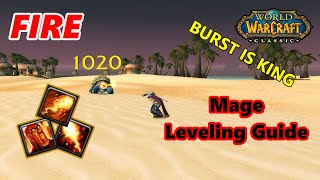Classic WoW Fire Mage Leveling Guide (Burst is KING)