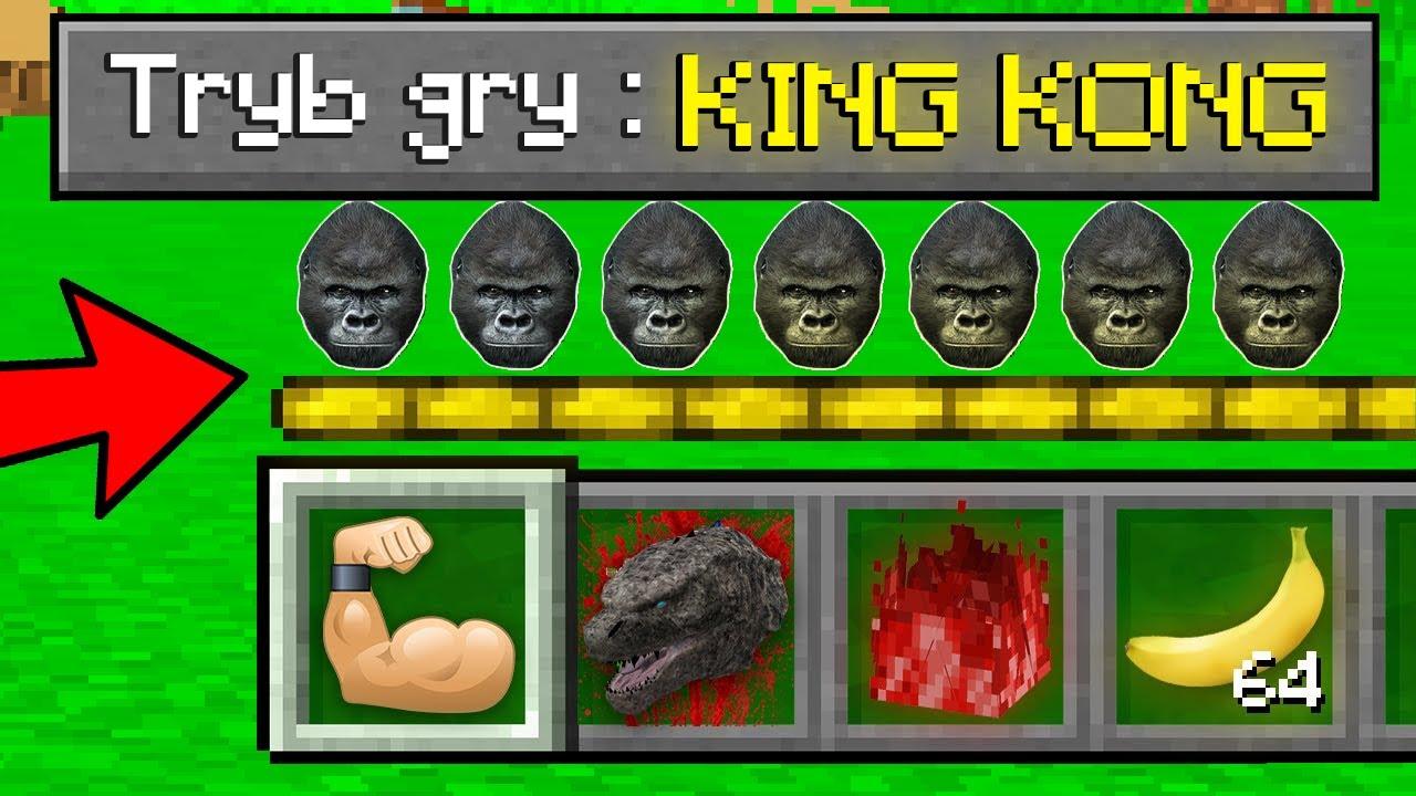 GPLAY GRA NA TRYBIE GRY KING KONG W MINECRAFT?! GPLAY & LUMI