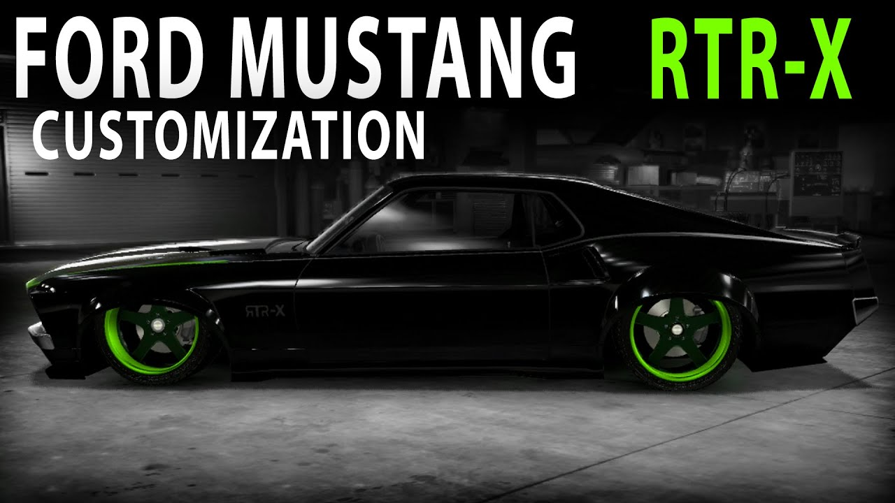 Midnight Club LA Ford Mustang Boss 302 WideBody RTR X