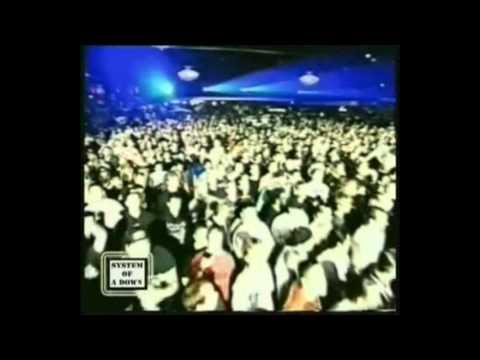 System of a Down - Serj's speech + War? (Live Denver 2000)