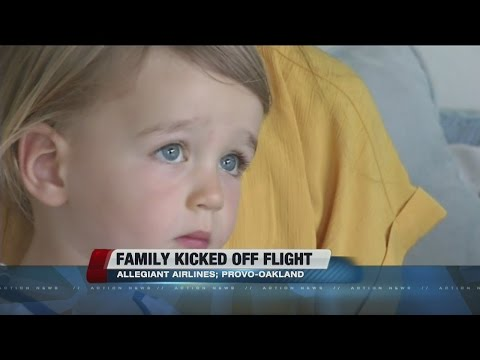 Family kicked off Allegiant flight due to son