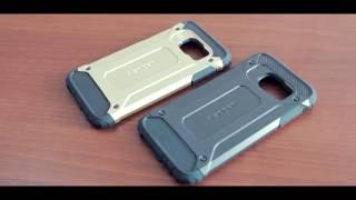 Защитный чехол Spigen для Samung Galaxy S7 / G930 (резина + пластик)