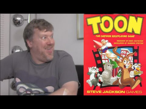 TOON (Roleplaying a Cartoon Character) - Rated RPG