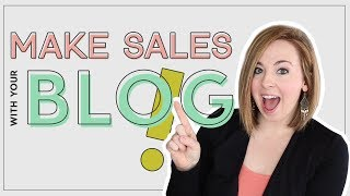 How to Write a Blog Post that CONVERTS TO SALES