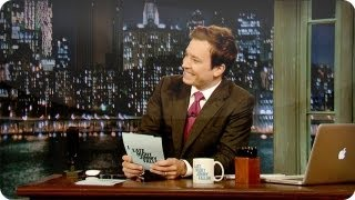 Hashtags: #IUsedToThink (Late Night with Jimmy Fallon)
