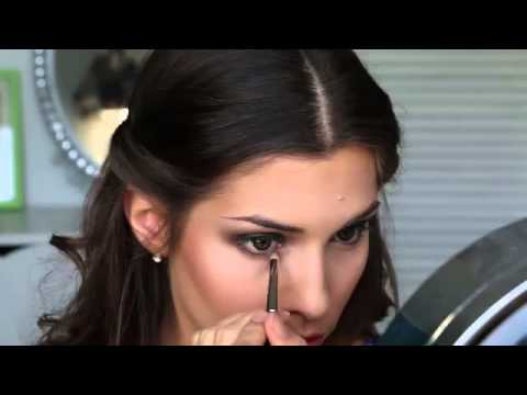 GREEN SMOKEY EYE MAKEUP TUTORIAL Prom Clubbing Bridal Festival or Special Event