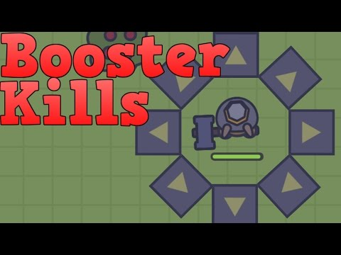 Booster + Weapon | Best SOLO strategy for raids | Moomoo.io